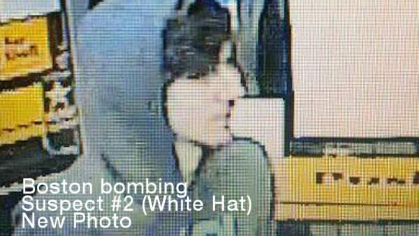 A new surveillance photo of the man called 'SUSPECT #2' in the Boston Marathon bombing.