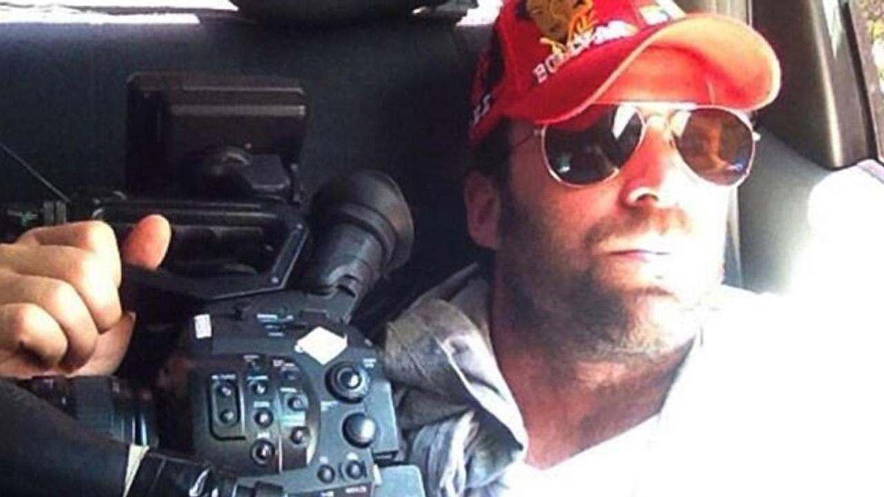 Timothy Tracy is seen in this undated file photo. The filmmaker from West Hollywood was jailed in Venezuela on Saturday, April 27, 2013, accused of paying right-wing groups to create political unrest on behalf of U.S. intelligence.