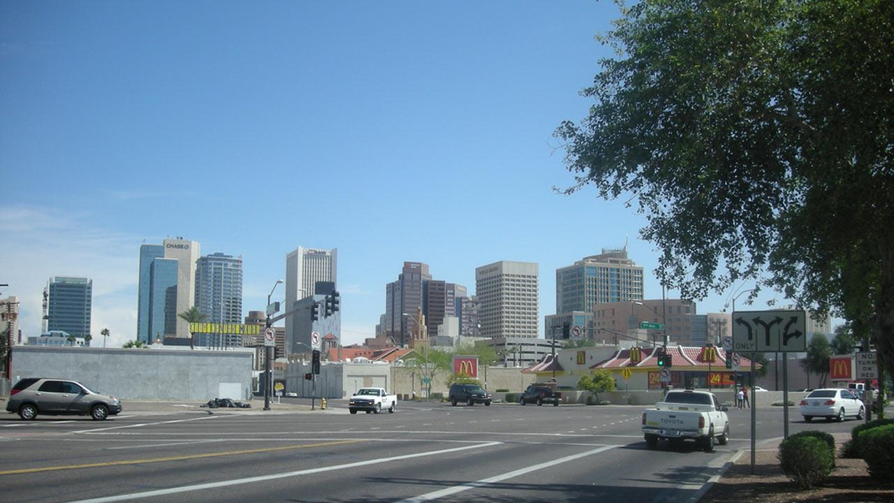 Phoenix, Ariz. is the sixth largest American city in terms of population, with nearly 1.5 million people, according to the latest U.S. Census Bureau data.Flickr/matsubatsu