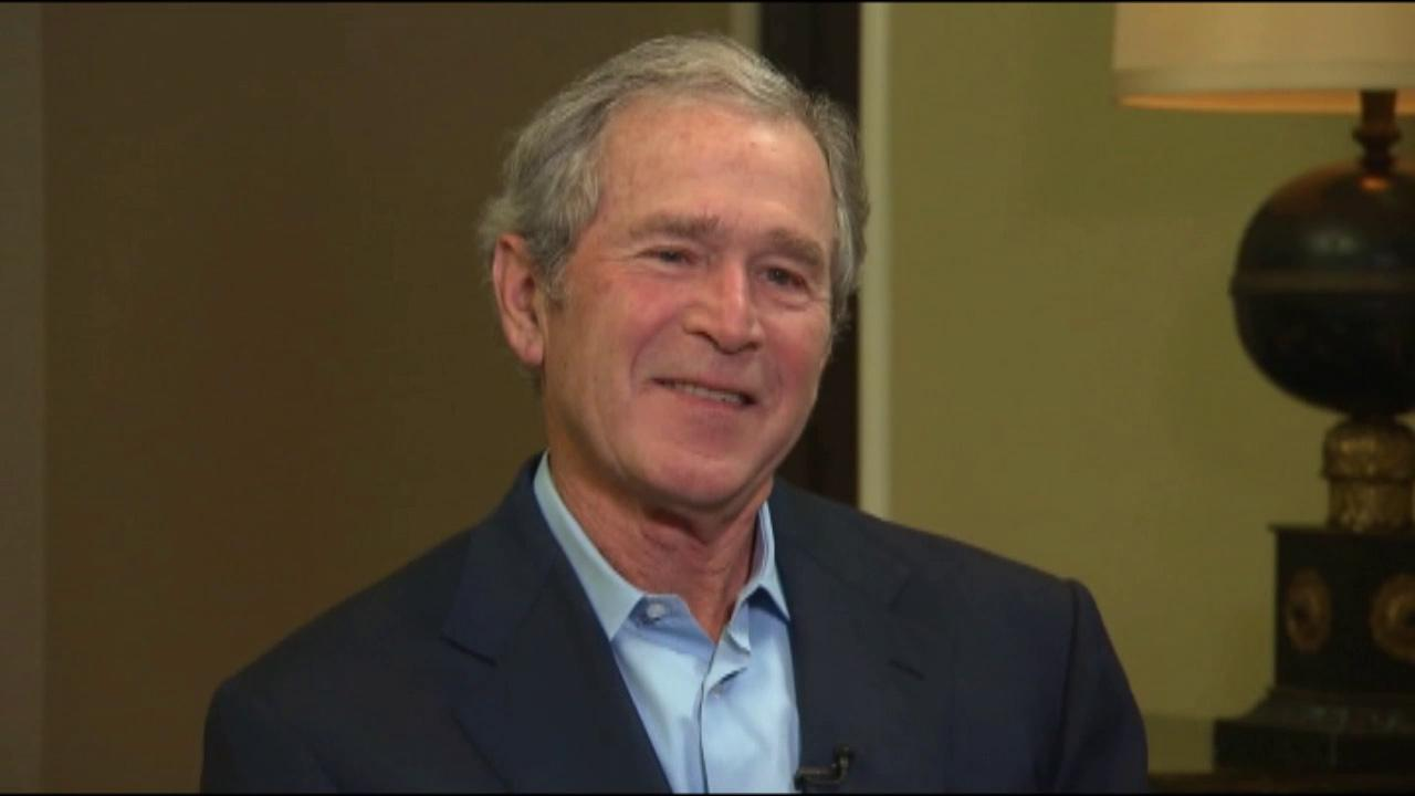 Former President George W. Bush is seen in this undated file photo.
