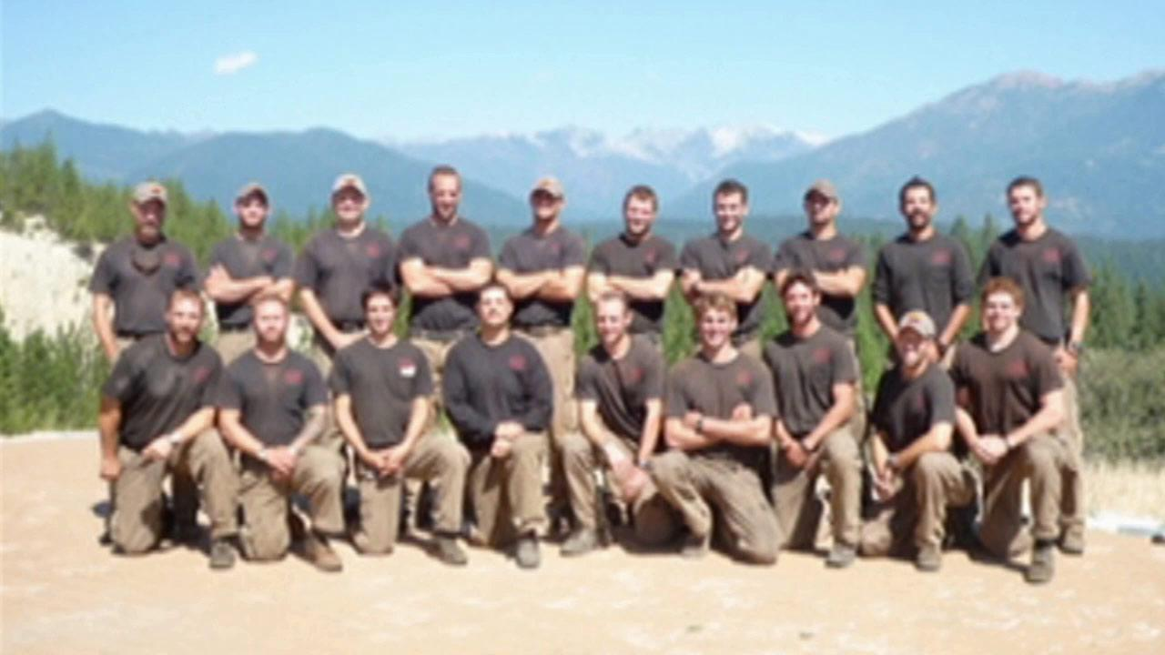 Members of the Prescott Fire Department are seen in this undated file photo from the Prescott City website.