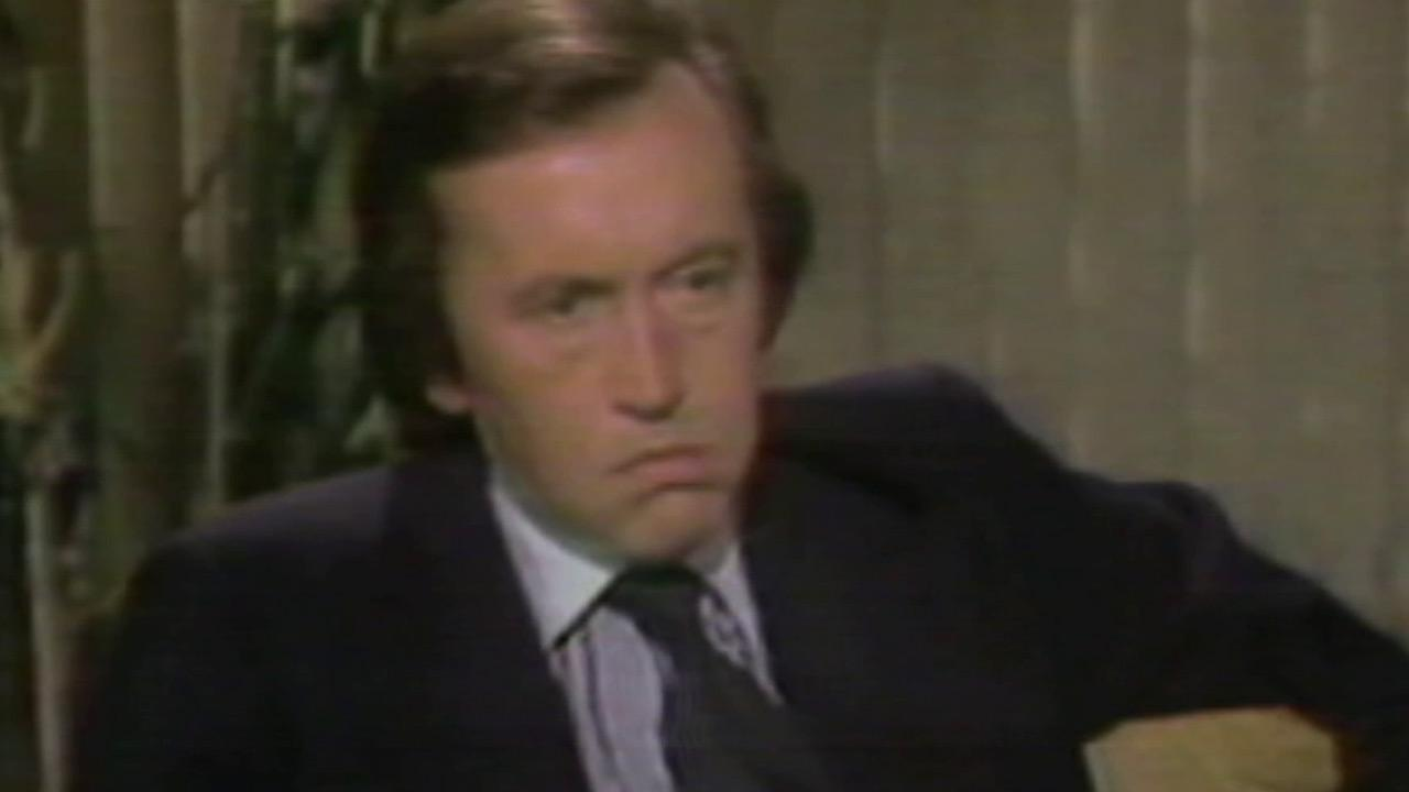 David Frost is seen in this undated file photo. The veteran journalist died Saturday, Aug. 31, 2013 after suffering a heart attack. He was 74.
