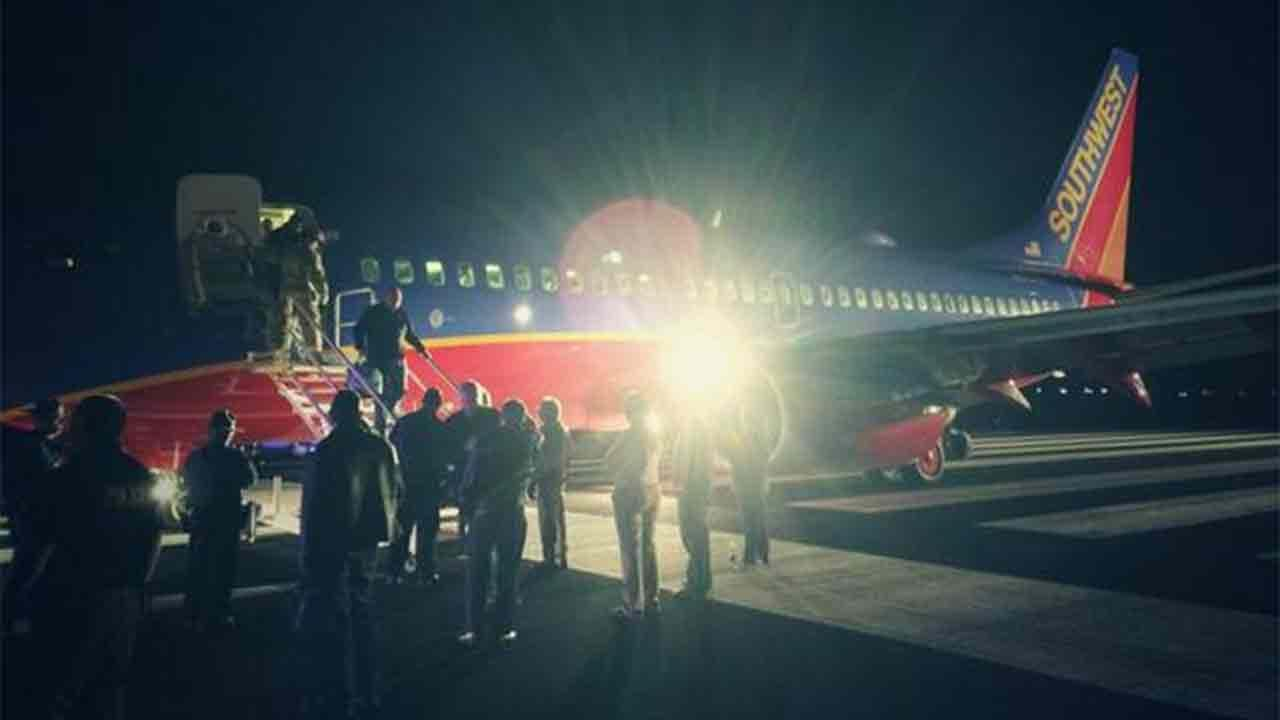 Southwest Airlines flight 4013 was originally scheduled to land at Branson Airport in Missouri Sunday, Jan. 12, 2014, but erroneously landed at M. Graham Clark Downtown Airport.