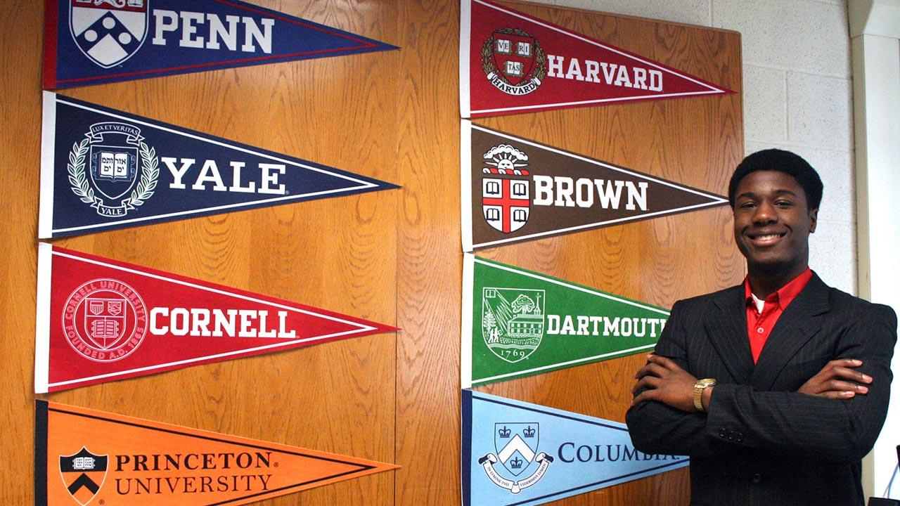 Kwasi Enin, 17, a William Floyd High School senior in Long Island, N.Y., was accepted to all eight Ivy League universities.
