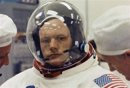 Astronaut Neil Armstrong was the first man to step foot on the moon.  <span class=meta>(Photo&#47;AP)</span>