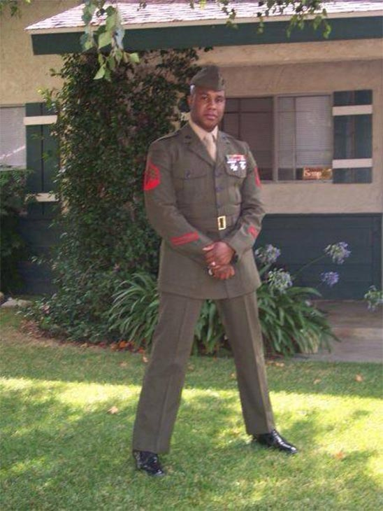 An ABC7 viewer sent in this photo of Marine Gamielle Marshall in honor of Veterans Day. Pay tribute to the men and women who fight for our country! Post a photo of a veteran you want to honor on our ABC7 Facebook page. You can also send us your photos on Twitter or Instagram with #abc7salutes. <span class=meta>(ABC7 viewer)</span>