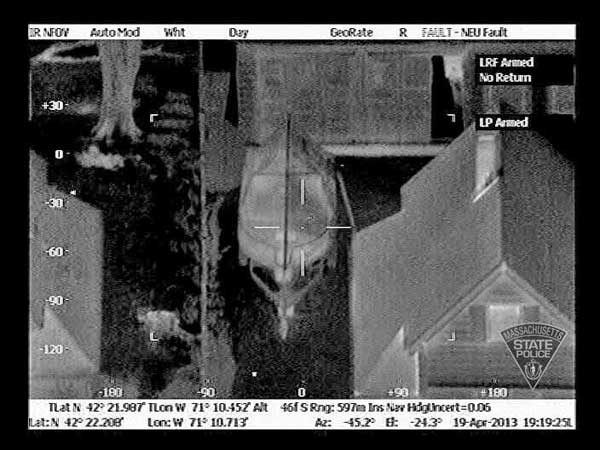 "<div class=""meta ""><span class=""caption-text "">Massachusetts State Police released this thermal imaging photo of the boat in Watertown, Mass., where Boston Marathon bombing suspect Dzhokhar Tsarnaev was taken into custody on Friday, April 19, 2013. (KABC)</span></div>"