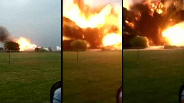 A massive explosion at a fertilizer plant in West, Texas, injured numerous people on Wednesday, April 17, 2013.