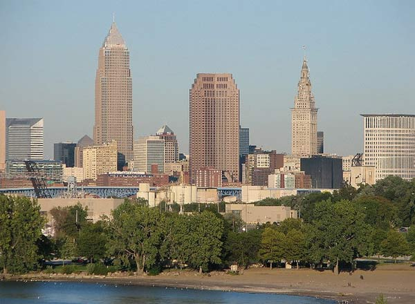 Cleveland, Ohio ranked No. 10 in Forbes&#39; 2011 list of most miserable cities in America. The list was compiled using factors such as unemployment and crime statistics. Other less serious factors like weather and commute times were also factored into the list. <span class=meta>(flickr&#47;ronnie44052)</span>