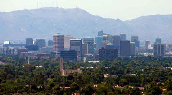 "<div class=""meta ""><span class=""caption-text "">Phoenix, Mesa and Scottsdale in Arizona ranked No. 2 on The Daily Beast's list of best cities for single women. The list was compiled by taking the surplus of single men over women in a metro. (Wikipedia.org)</span></div>"