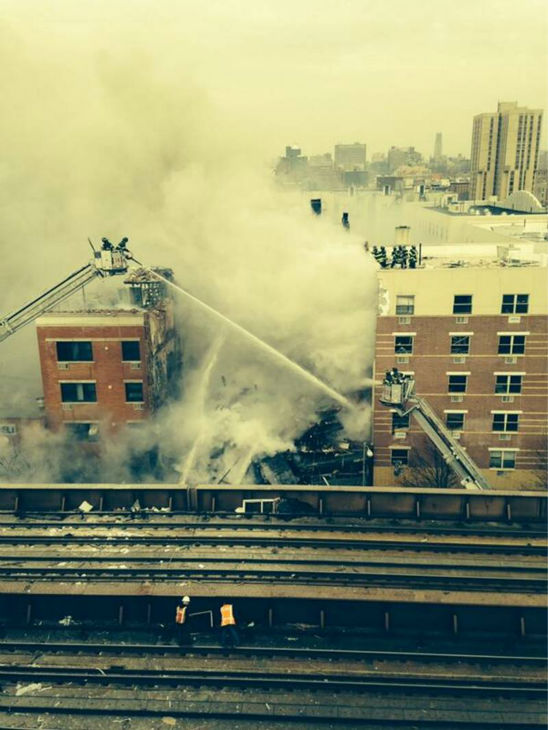 "<div class=""meta ""><span class=""caption-text "">Photos from Eyewitness News viewers and reporters of the explosion in East Harlem on Wednesday, March 12, 2014. (WABC-TV)</span></div>"