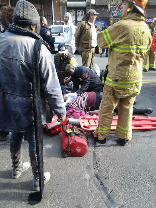 "<div class=""meta ""><span class=""caption-text "">Photos from Eyewitness News viewers and reporters of the explosion in East Harlem on Wednesday, March 12, 2014 . (WABC-TV)</span></div>"