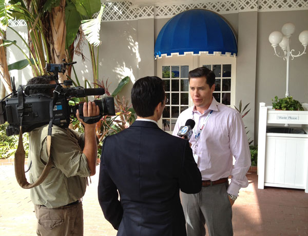 "<div class=""meta image-caption""><div class=""origin-logo origin-image ""><span></span></div><span class=""caption-text"">ABC7 Eyewitness News Anchor David Ono interviews California delegate and former 'Bachelor' Andrew Firestone at the Republican National Convention in Tampa, Fla., on Tuesday, Aug. 28, 2012.</span></div>"