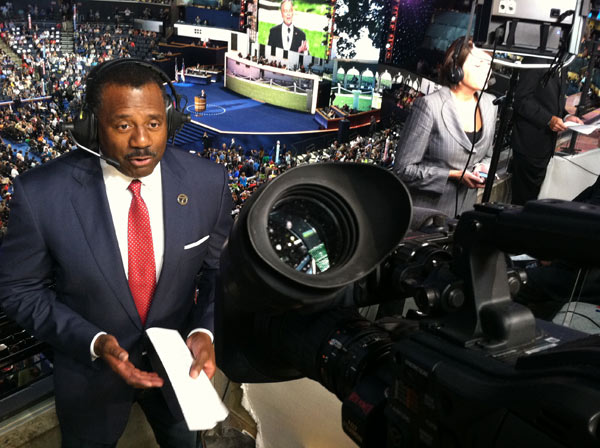 "<div class=""meta ""><span class=""caption-text "">ABC7 Eyewitness News Anchor Marc Brown is seen reporting from Charlotte, N.C., for the Democratic National Convention on Tuesday, Sept. 4, 2012.</span></div>"
