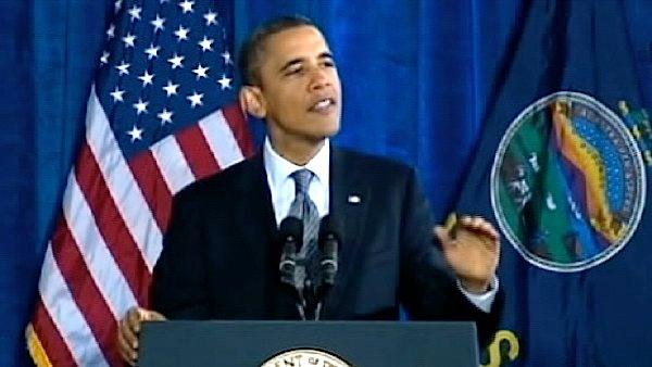 Obama visits Kansas to tout middle class plan