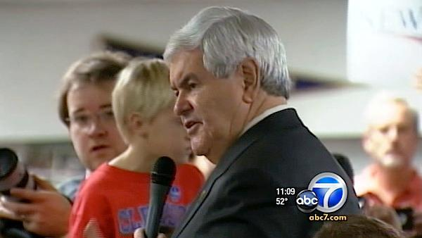 Gingrich rides wave of momentum into Florida
