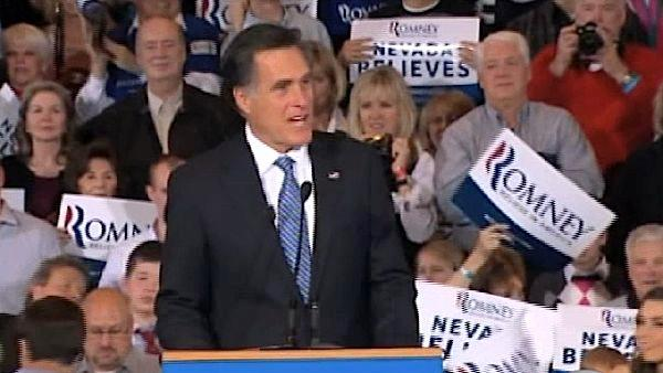 Romney projected winner of Nevada caucuses