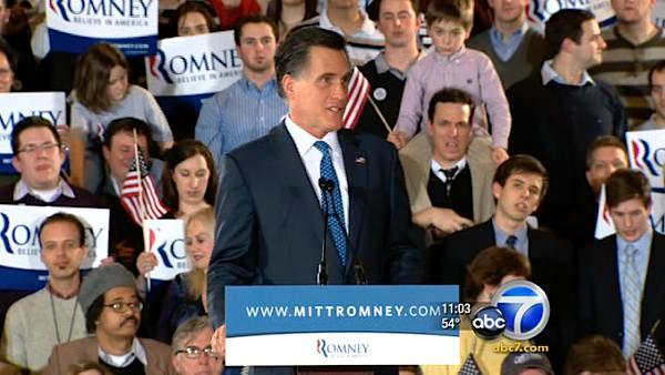 Romney wins 6 states on Super Tuesday