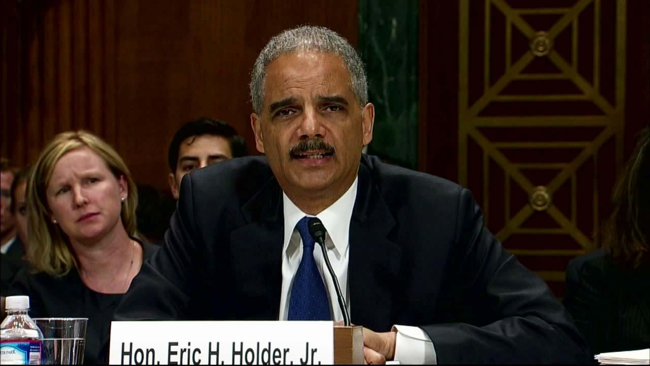 U.S. Attorney General Eric Holder appears in an undated file photo.