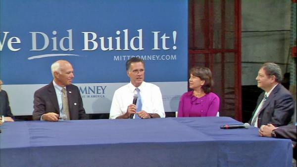 Mitt Romney back on campaign trail in OC