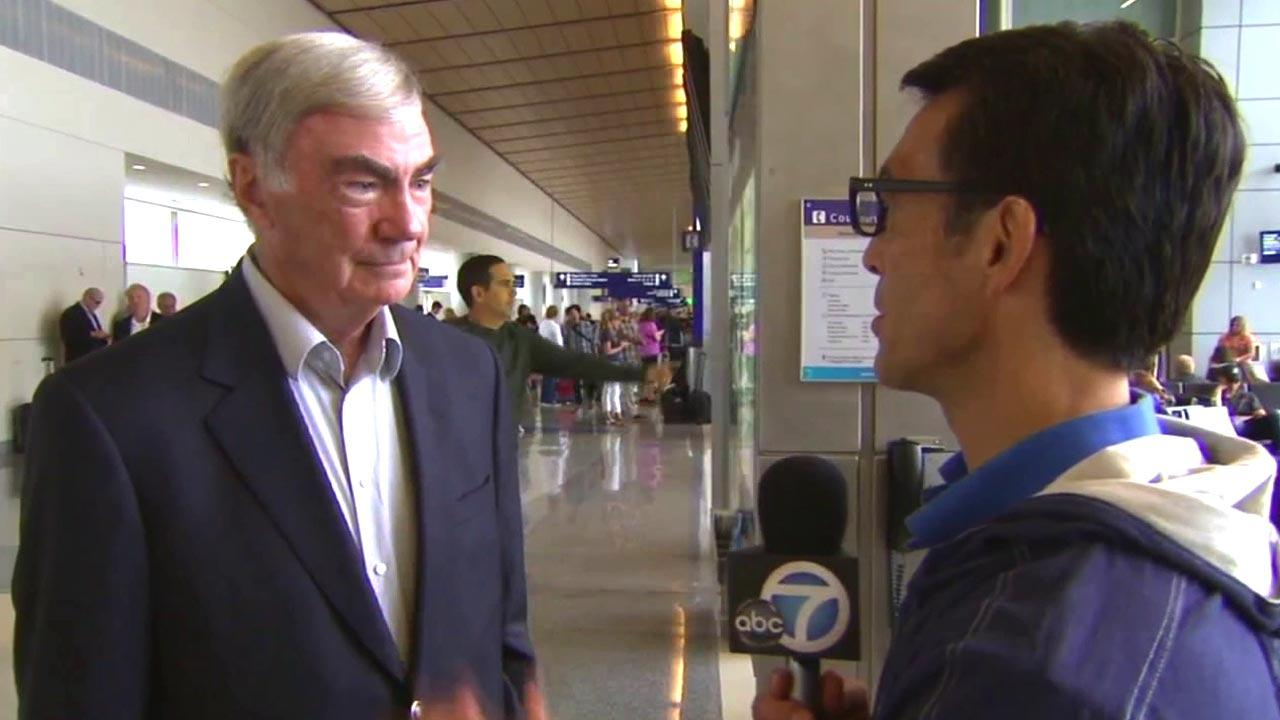 ABC7 Eyewitness News Anchor David Ono caught up with legendary ABC News journalist Sam Donaldson at the Republican National Convention in Tampa, Fla., on Sunday, Aug. 26, 2012.