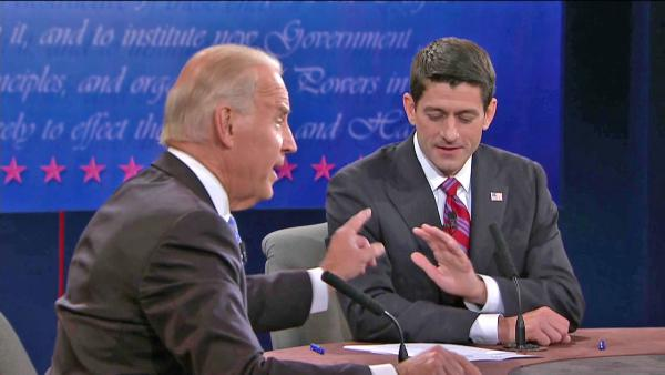 Biden, Ryan aggressive in VP debates