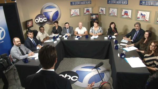 ABC7 focus group reacts to town hall debate