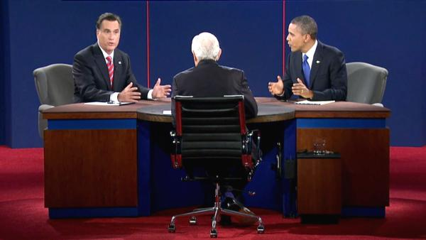 Debate: Obama, Romney spar on foreign policy