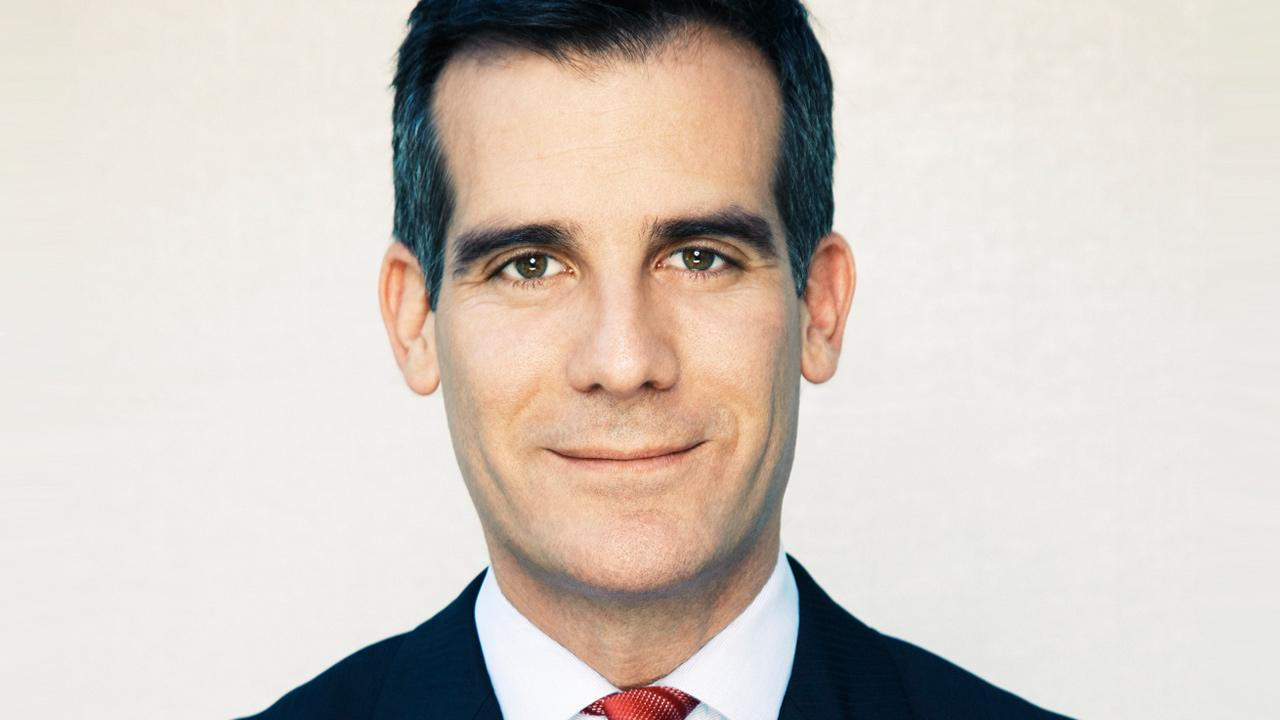Los Angeles City Councilman Eric Garcetti, seen here in this undated campaign photo.