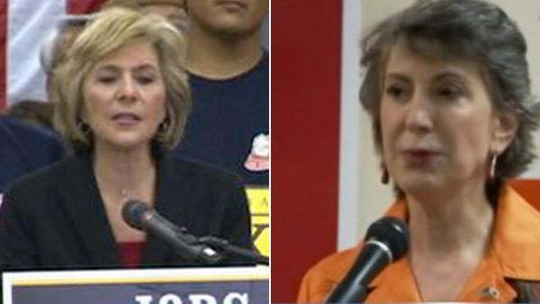 Boxer, Fiorina make final push for votes
