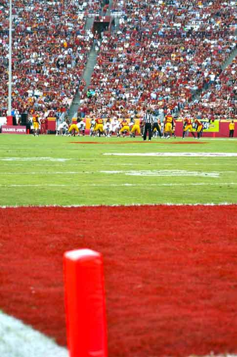 "<div class=""meta ""><span class=""caption-text "">USC played Stanford on Saturday Oct. 29, 2011 at the Coliseum. The No. 4 Cardinals beat the No. 20 Trojans 56-48 in triple OT. (KABC)</span></div>"