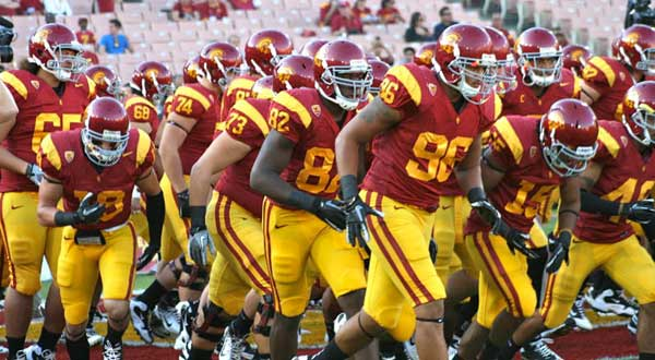 "<div class=""meta image-caption""><div class=""origin-logo origin-image ""><span></span></div><span class=""caption-text"">USC played Stanford on Saturday Oct. 29, 2011 at the Coliseum. The No. 4 Cardinals beat the No. 20 Trojans 56-48 in triple OT. (KABC)</span></div>"