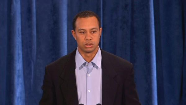 Tiger Woods' complete public statement