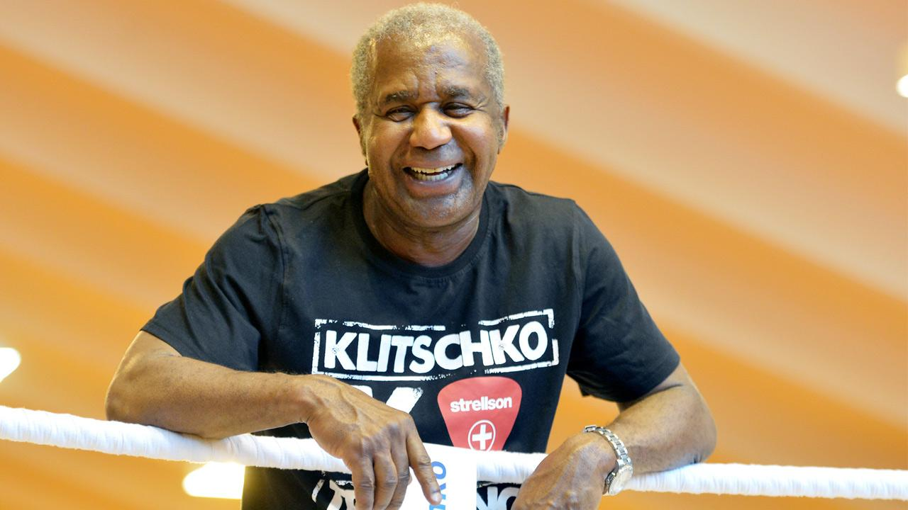 Emanuel Steward is seen during a training session with Wladimir Klitschko in Going, Austria on June 19, 2012.Kerstin Joensson