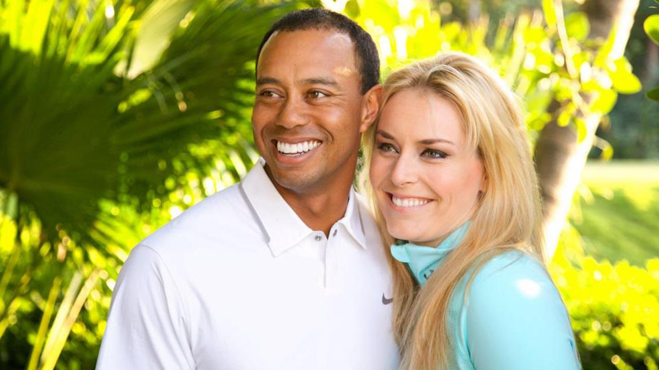 Tiger Woods and Lindsey Vonn confirmed their relationship with photos posted on their Facebook pages on Monday, March 18, 2013.