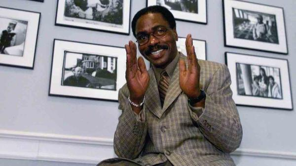 Rubin 'Hurricane' Carter, seen in this photo as he answers a question during a news conference in Charlotte, N.C., Friday, Jan. 7, 2000, died Sunday April 20, 2014.