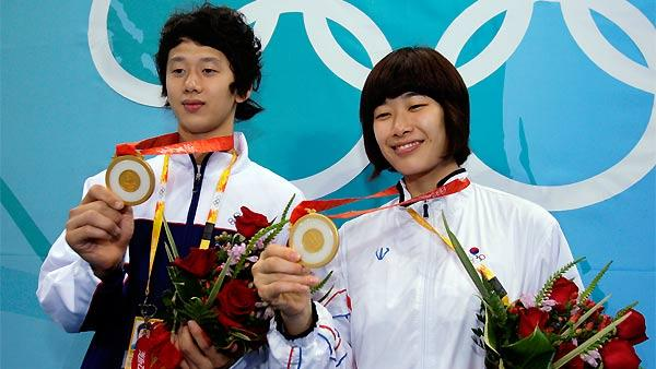 South Korea gold medal taekwondo winners