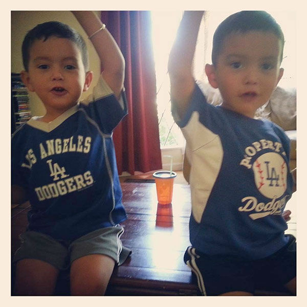 Show us your Dodger love! Post your fan photos on our ABC7 Facebook page, and you might be featured on-air. You can also send us your photos on Twitter or Instagram with #abc7dodgers. LET&#39;S GO DODGERS!  <span class=meta>(KABC Photo &#47; Anabel Mendoza)</span>