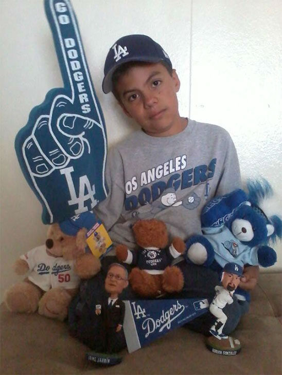 Show us your Dodger love! Post your fan photos on our ABC7 Facebook page, and you might be featured on-air. You can also send us your photos on Twitter or Instagram with #abc7dodgers. LET&#39;S GO DODGERS! <span class=meta>(KABC Photo &#47; Chavez Perla)</span>