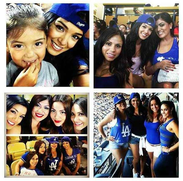 Show us your Dodger love! Post your fan photos on our ABC7 Facebook page, and you might be featured on-air. You can also send us your photos on Twitter or Instagram with #abc7dodgers. LET&#39;S GO DODGERS! <span class=meta>(KABC Photo &#47; Denisse Gonzalez)</span>
