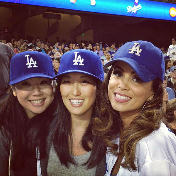 Show us your Dodger love! Post your fan photos on our ABC7 Facebook page, and you might be featured on-air. You can also send us your photos on Twitter or Instagram with #abc7dodgers. LET&#39;S GO DODGERS! <span class=meta>(KABC Photo &#47; Alysha Del Valle and Hanna Chu)</span>