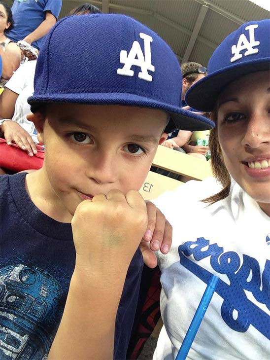 Show us your Dodger love! Post your fan photos on our ABC7 Facebook page, and you might be featured on-air. You can also send us your photos on Twitter or Instagram with #abc7dodgers. LET&#39;S GO DODGERS! <span class=meta>(KABC Photo &#47; Nichole Navarrete Garza)</span>