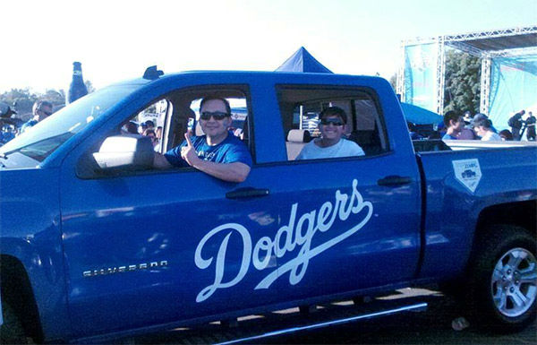 "<div class=""meta ""><span class=""caption-text "">Show us your Dodger love! Post your fan photos on our ABC7 Facebook page, and you might be featured on-air. You can also send us your photos on Twitter or Instagram with #abc7dodgers. LET'S GO DODGERS! (KABC Photo / Patricia Barba Contreras)</span></div>"