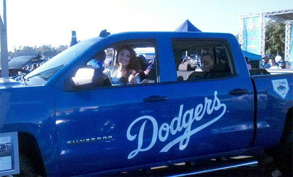 Show us your Dodger love! Post your fan photos on our ABC7 Facebook page, and you might be featured on-air. You can also send us your photos on Twitter or Instagram with #abc7dodgers. LET&#39;S GO DODGERS!  <span class=meta>(KABC Photo &#47; Patricia Barba Contreras)</span>