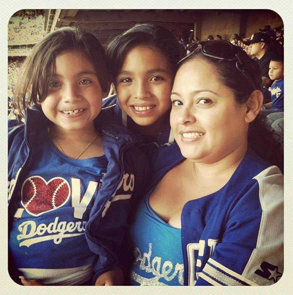 "<div class=""meta ""><span class=""caption-text "">Show us your Dodger love! Post your fan photos on our ABC7 Facebook page, and you might be featured on-air. You can also send us your photos on Twitter or Instagram with #abc7dodgers. LET'S GO DODGERS!  (KABC Photo / Rita Hernandez)</span></div>"