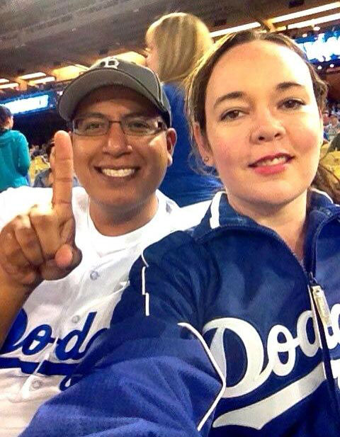 Show us your Dodger love! Post your fan photos on our ABC7 Facebook page, and you might be featured on-air. You can also send us your photos on Twitter or Instagram with #abc7dodgers. LET&#39;S GO DODGERS! <span class=meta>(KABC Photo &#47; Roxy Abrines and Jose Jimenez)</span>