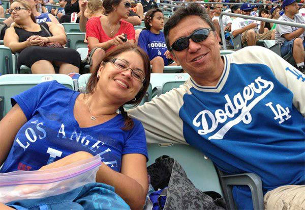Show us your Dodger love! Post your fan photos on our ABC7 Facebook page, and you might be featured on-air. You can also send us your photos on Twitter or Instagram with #abc7dodgers. LET&#39;S GO DODGERS!  <span class=meta>(KABC Photo &#47; Victor Posod)</span>