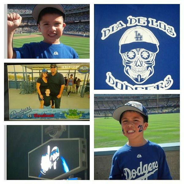 "<div class=""meta ""><span class=""caption-text "">Show us your Dodger love! Post your fan photos on our ABC7 Facebook page, and you might be featured on-air. You can also send us your photos on Twitter or Instagram with #abc7dodgers. LET'S GO DODGERS! (KABC Photo / Boriqua Martinez)</span></div>"