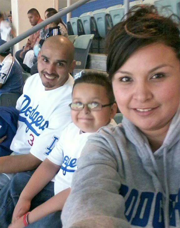 Show us your Dodger love! Post your fan photos on our ABC7 Facebook page, and you might be featured on-air. You can also send us your photos on Twitter or Instagram with #abc7dodgers. LET&#39;S GO DODGERS! <span class=meta>(KABC Photo &#47; Candice Rodriguez)</span>