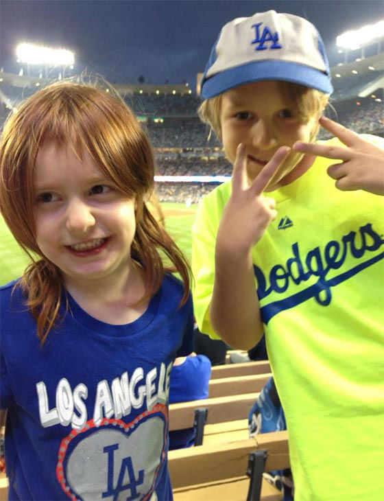 Show us your Dodger love! Post your fan photos on our ABC7 Facebook page, and you might be featured on-air. You can also send us your photos on Twitter or Instagram with #abc7dodgers. LET&#39;S GO DODGERS! <span class=meta>(KABC Photo &#47; Carla Gomez Pryor)</span>